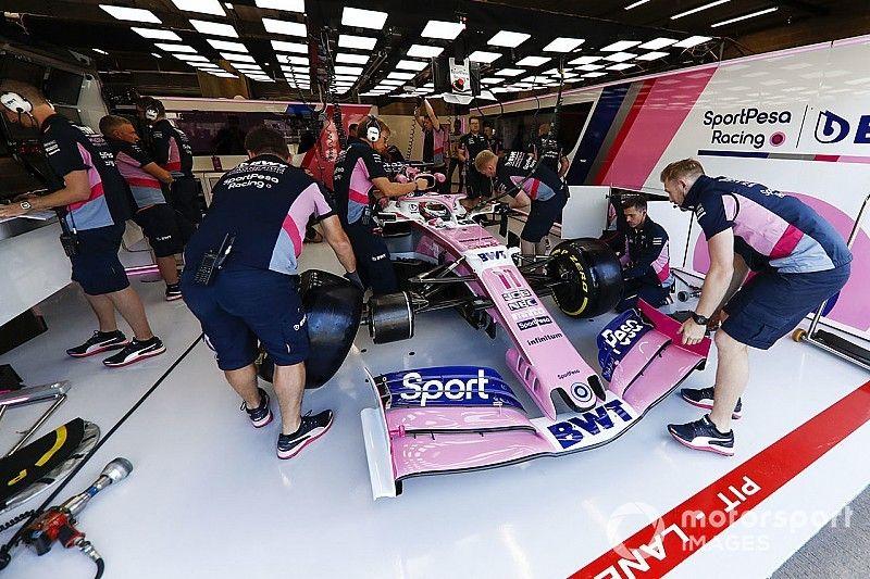 Pérez revient à l'ancien moteur Mercedes après l'incident des EL2