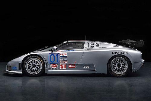 Bugatti podría traer un sucesor del EB110 SS a Pebble Beach
