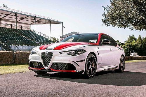 Llegan a Goodwood Giulia y Stelvio inspirados en Alfa Romeo Racing