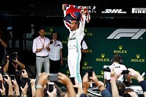 F1: Hamilton agradece torcida após quebrar recorde na Inglaterra