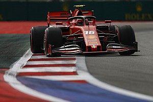 Leclerc bate Vettel no último treino livre para o GP da Rússia de F1