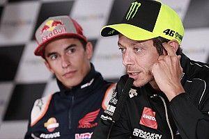 """Rossi dice que """"sería interesante ver qué pasa"""" si Lorenzo vuelve a Ducati"""