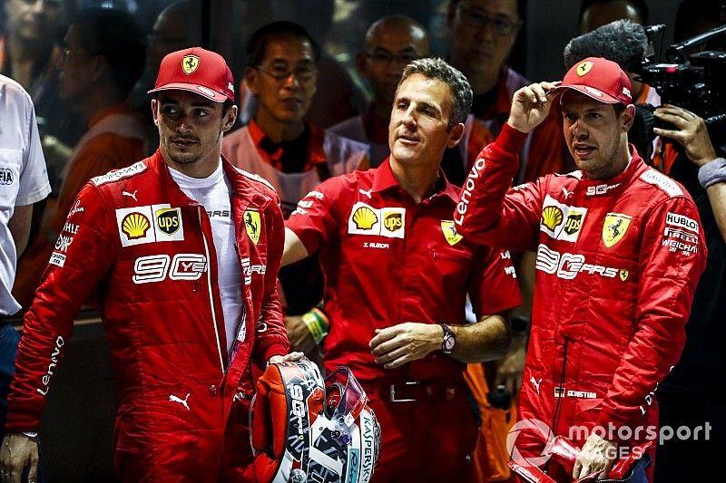 '¿Por qué Ferrari no le devolvió la punta a Leclerc en Singapur?', por Diego Mejía