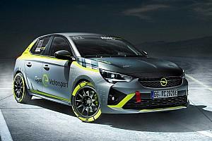 Az Opel Corsa-e a világ első elektromos raliautója