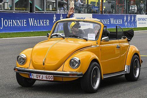 De Fusca a Porsche: veja carros de exibição dos pilotos em Spa