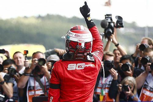 Leclerc, el ganador más joven de Ferrari