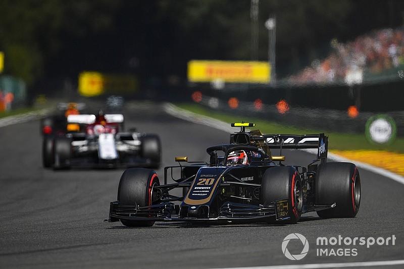 Steiner: Bélgica expuso debilidad aerodinámica de Haas en rectas