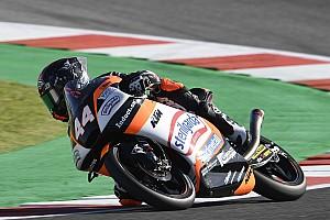 Moto3アラゴン予選:小椋藍が自己ベストタイの2番手フロントロウ。PPカネット