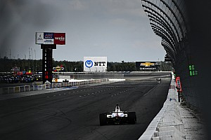 Dixon, Power, Pagenaud defend Pocono after crashes