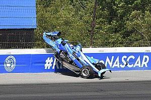 """Rosenqvist s'estime """"chanceux"""" après l'énorme crash de Pocono"""