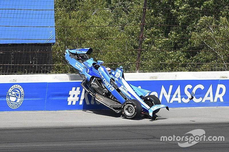 Уикенс выступил против гонок в Поконо после новой аварии