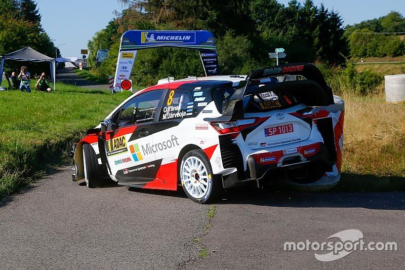 WRC: nuova ala posteriore Toyota a partire dalla Turchia