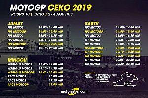Jadwal lengkap MotoGP Ceko 2019