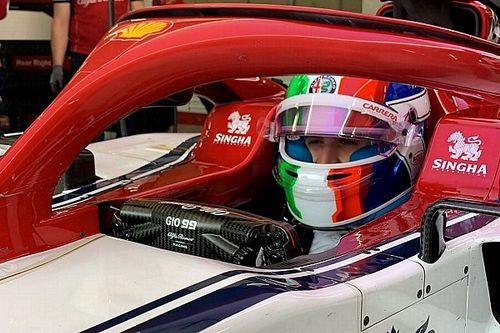 Test Pirelli: per Giovinazzi 110 giri al Red Bull Ring con l'Alfa Romeo prima della pioggia