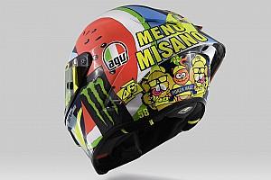 Fotostrecke: Valentino Rossis Helm für Misano 2019