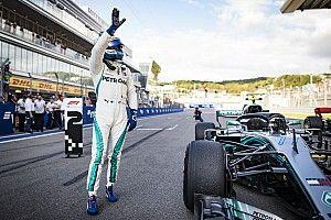 Bottas le gana la pole a Hamilton en Rusia