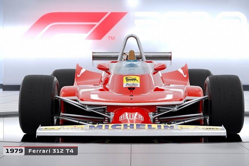 El videojuego de la F1 2018 contará con más coches clásicos