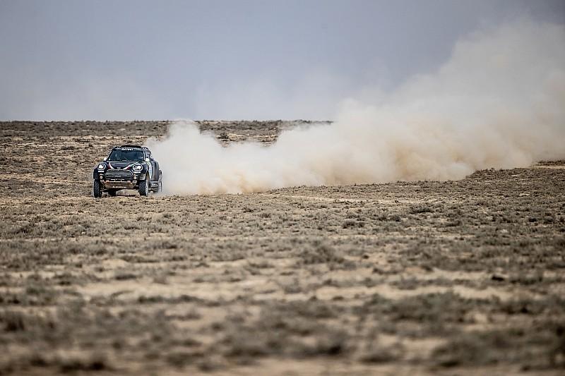 رالي كازاخستان: يزيد الراجحي يقتنص فوزًا ثمنيًا