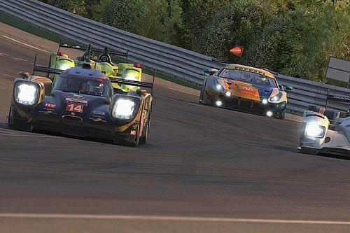 Pure Racing Team domina y NWS eSports roza el podio de Le Mans iRacing