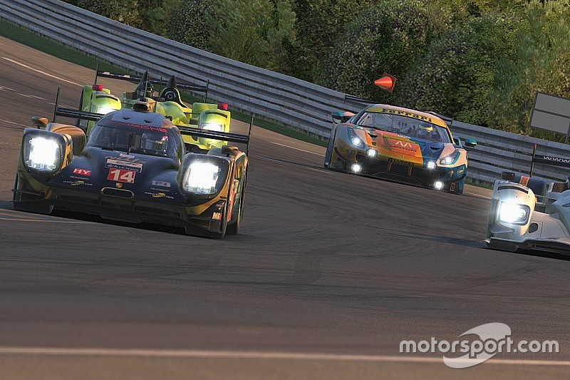Pure Racing Team domina y NWS eSports roza el podio de Le Mans iRacing