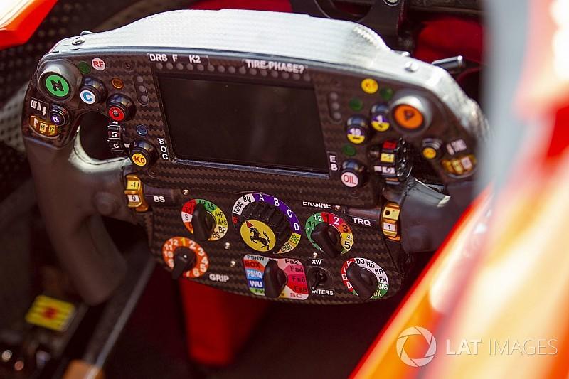 Ragyás Ferrari-kormány, másoló Red Bull – technikai galéria Spából