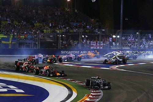 Volledige uitslag F1 Grand Prix van Singapore