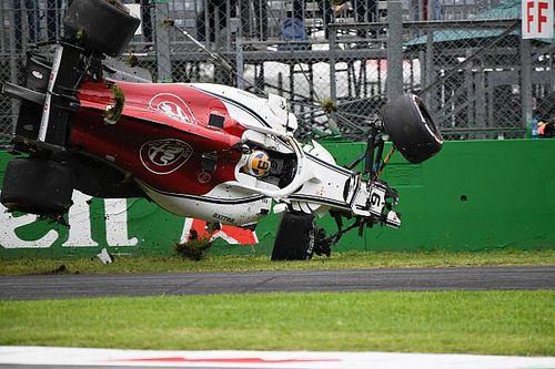 FIA рассказала о причинах аварии Эрикссона в Монце