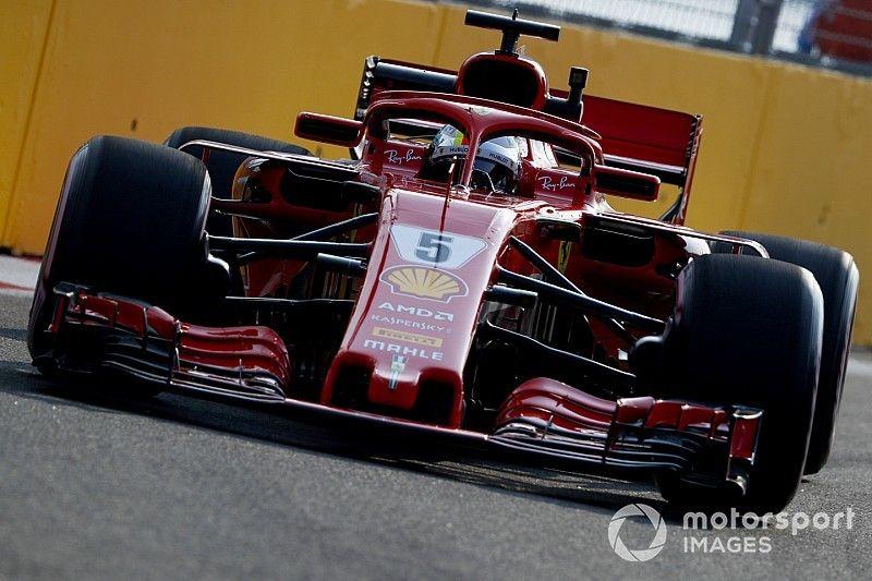 Singapore GP: Vettel leads Ferrari 1-2 in final practice