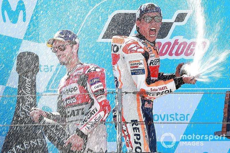 Fotogallery: la vittoria di Marc Marquez al GP di Aragon di MotoGP