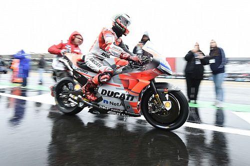 MotoGPイギリス:4時間以上のディレイも状況回復せず。全クラス決勝の中止決定