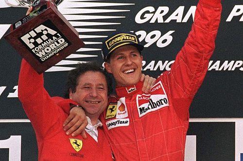"""Visito Schumacher """"pelo menos duas vezes por mês"""", diz Todt"""