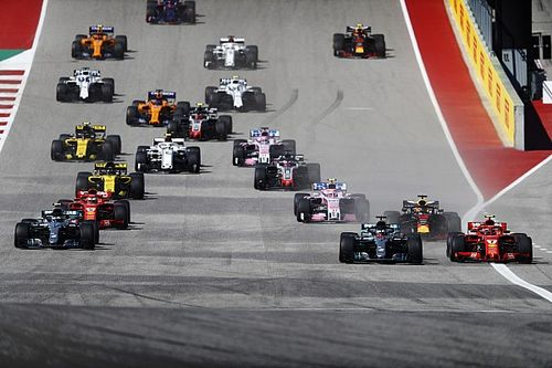 Formel 1 USA 2018: Das Rennergebnis in Bildern