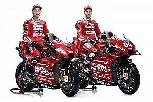"""Ducati presenta una Desmosedici más roja y """"mejorada en todas las áreas"""""""