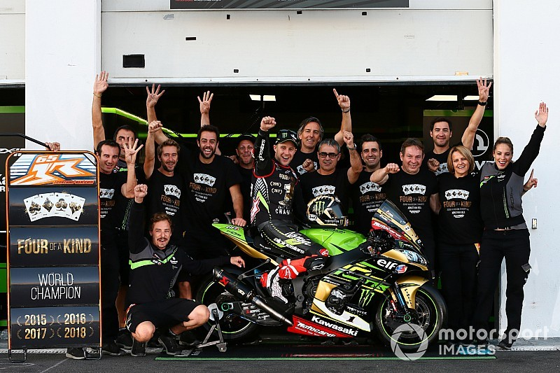 Mid-season Kawasaki 'transformation' key to title - Rea