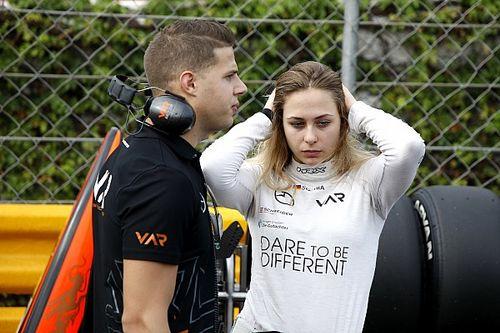Sophia Floersch: Mi accidente no me desviará del sueño de correr en F1