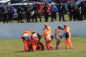 Honda tersungkur, Marquez: Hari yang aneh