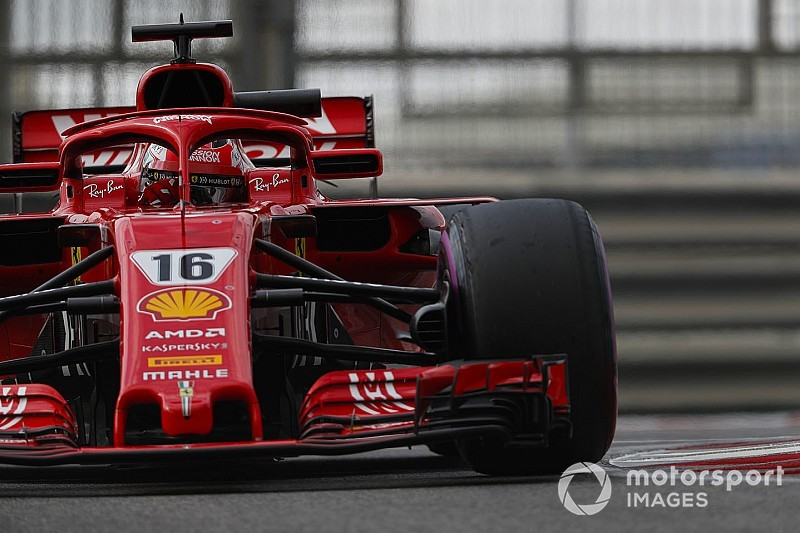 Pirelli-Reifentest Abu Dhabi: Leclerc fährt Bestzeit und toppt Vettel