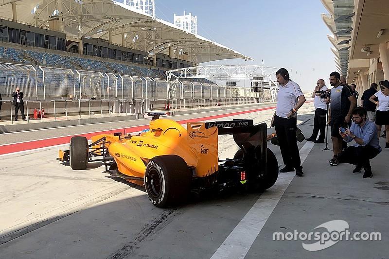 ألونسو يعود لاختبار سيارة فورمولا واحد بشكل مفاجئ في البحرين