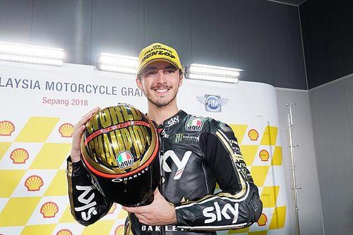 Luca Marini gana en Sepang y Bagnaia se convierte en campeón de Moto2