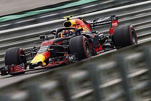 """Verstappen : """"Pas immédiatement au niveau de Ferrari et Mercedes"""""""