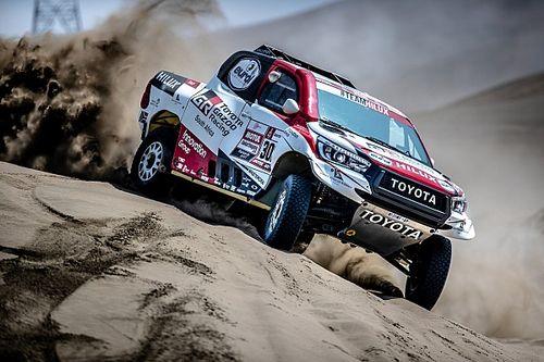 Алонсо начал тесты дакаровского внедорожника Toyota