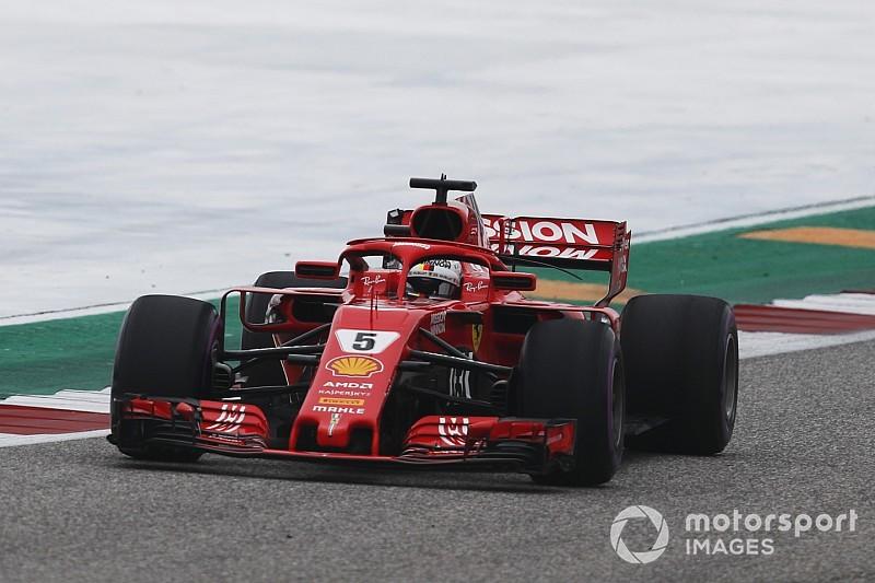 F1アメリカFP3:最速ベッテルも決勝に不安? 中団争い大接戦!