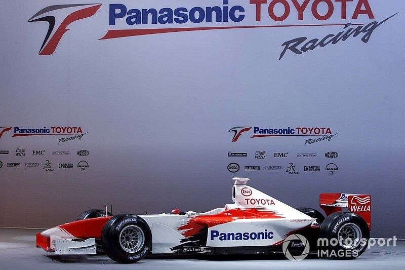 Un día como hoy: La presentación de Toyota en F1