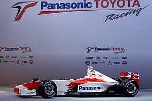 La presentación del estreno de Toyota en F1