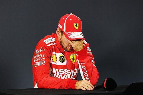 "Vettel: ""Es horrible perder el campeonato"""