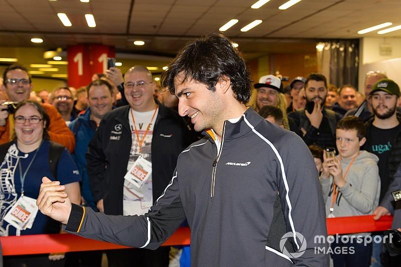 Sainz: 2019 McLaren aracı harika görünüyor