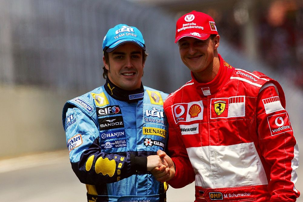 Ma ünnepli 40. születésnapját Fernando Alonso, aki megállította a Ferrarit és Schumachert