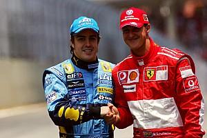 13 éve, hogy Alonso utoljára (?) bajnok lett: Schumacher utolsó ferraris futama