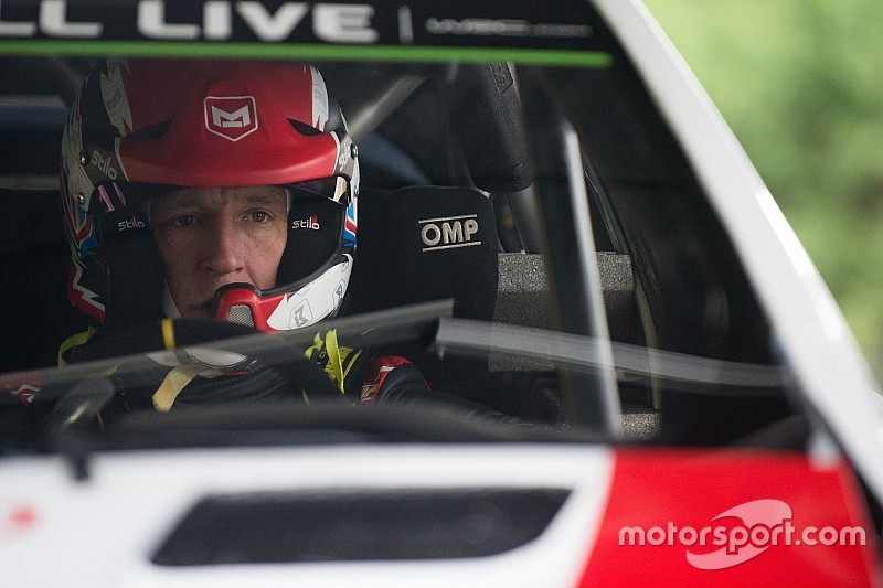 Meeke paired with Paddon's former co-driver at Toyota