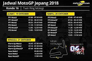 Jadwal lengkap MotoGP Jepang 2018